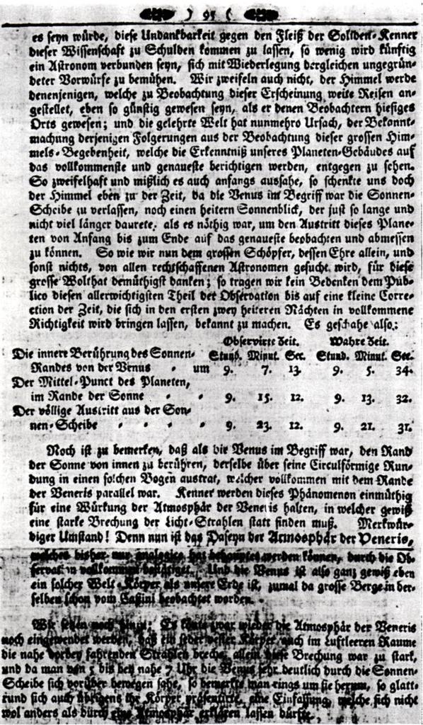 """13.Juni 1761 in der """"Magdeburgischen Privilegierten Zeitung"""" Seite 2 Quelle: Stadtarchiv Magdeburg"""
